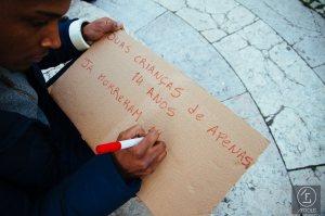 Concentração: Contra a violência policial [12.02.15]