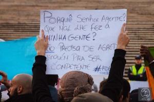 Concentração: Contra a violência policial