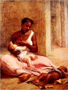 Mãe Preta - pintura